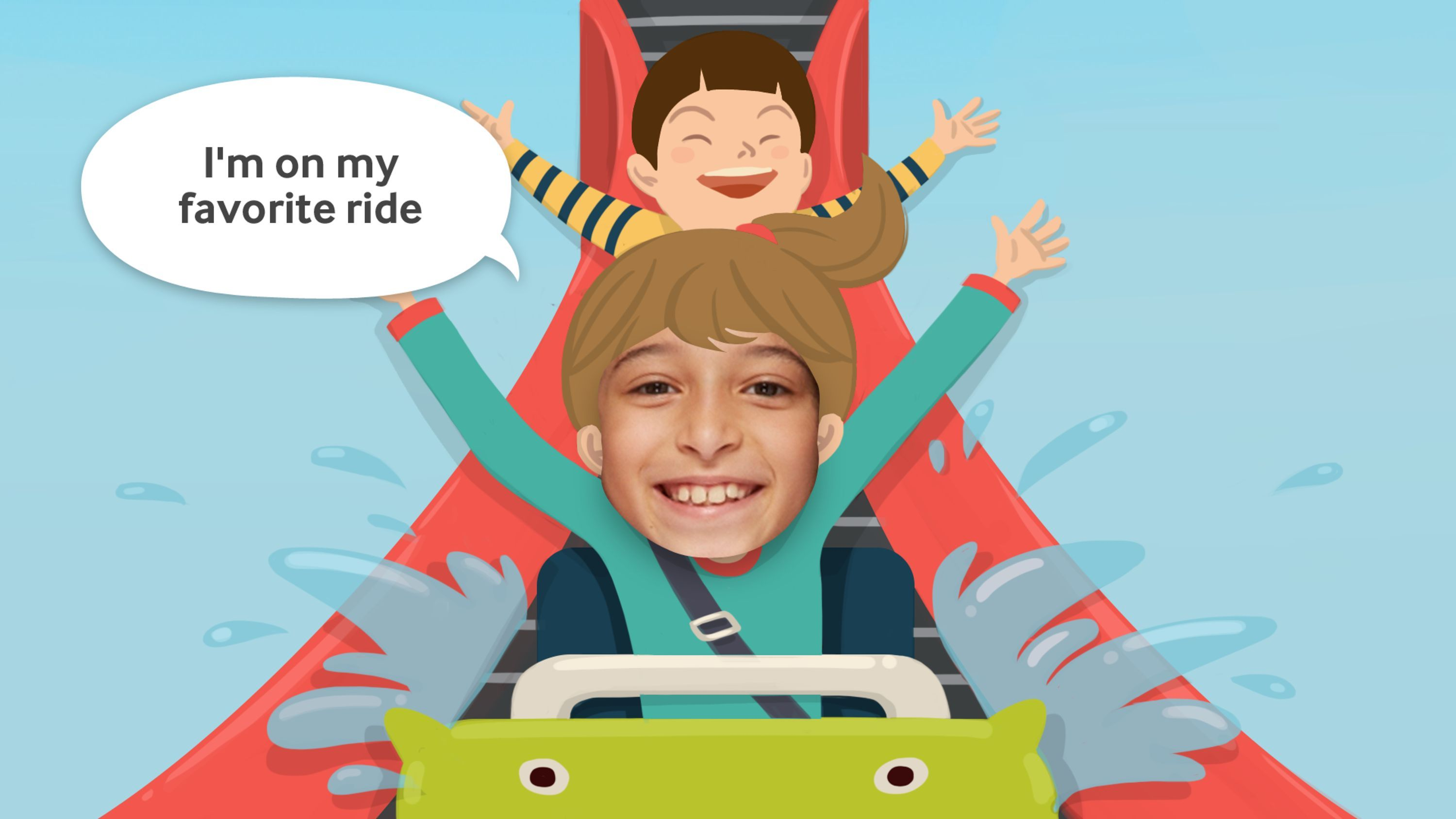 Look at Me | Samsung Social Skills Development App for Children | Award-winning Mobile Marketing Apps