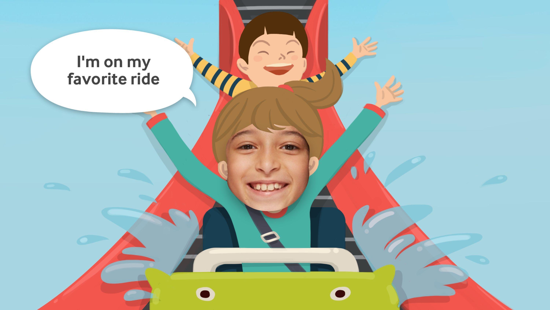 Look at Me | Samsung Social Skills Development App for Children | Award-winning Mobile Marketing Apps