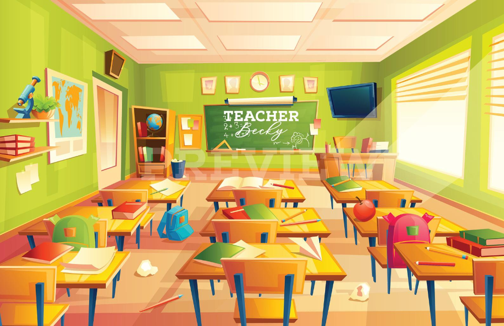 Pin On Vipkid Online Classroom Backdrop