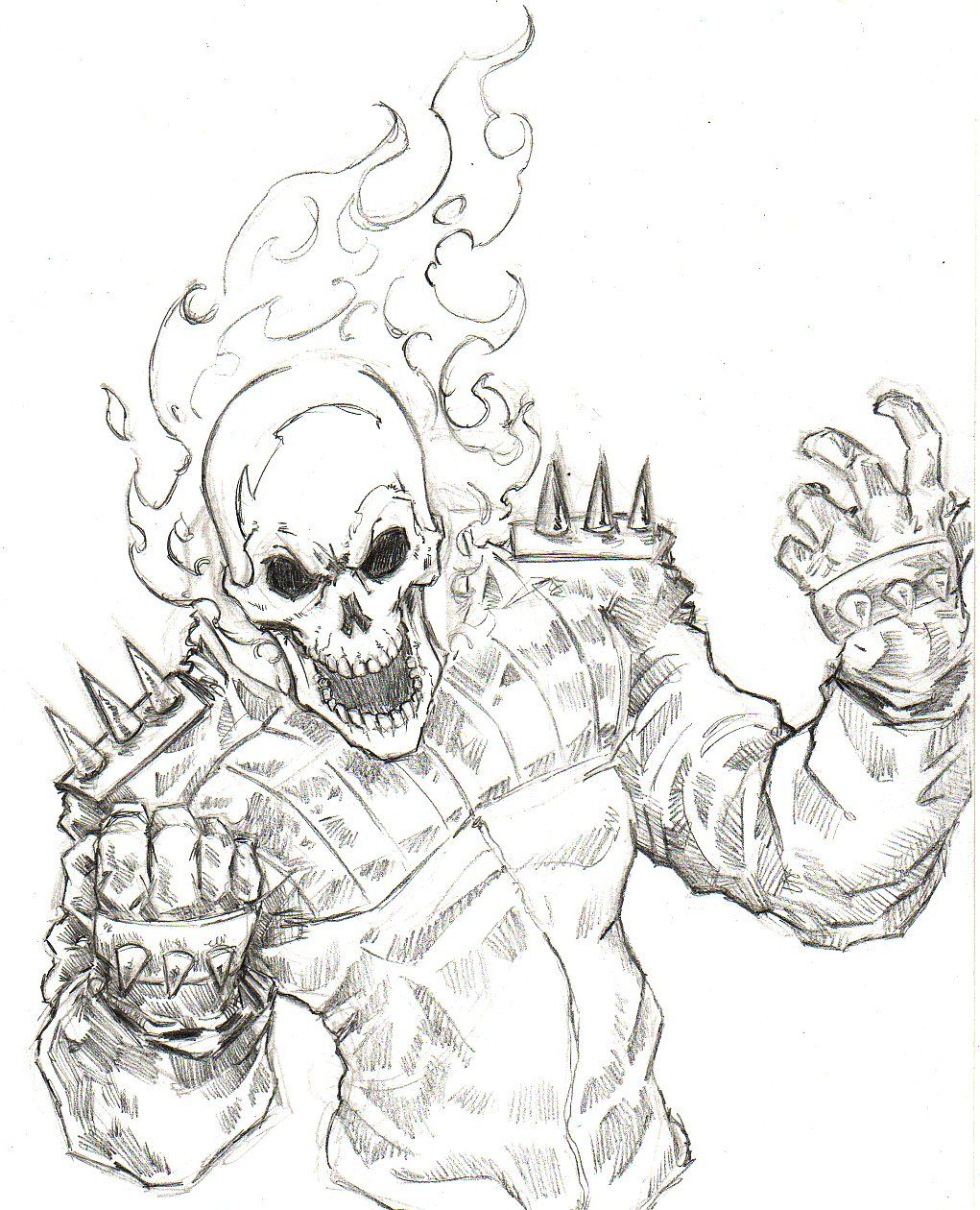 ghost rider coloring pages   Google Search   m f   Ghost ...