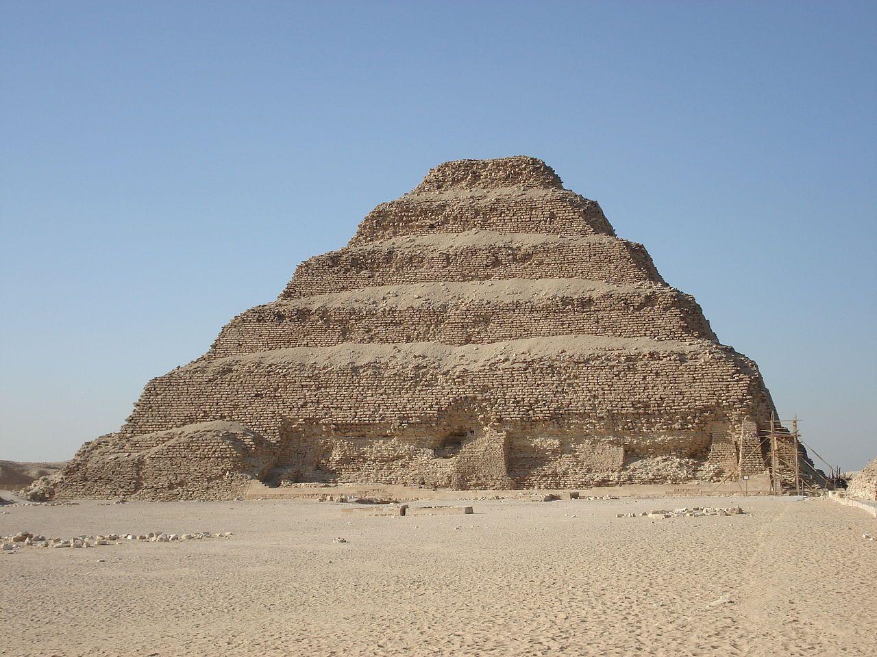 Saqqara Pyramid Djoser; Stepped Pyramid of Saqqara