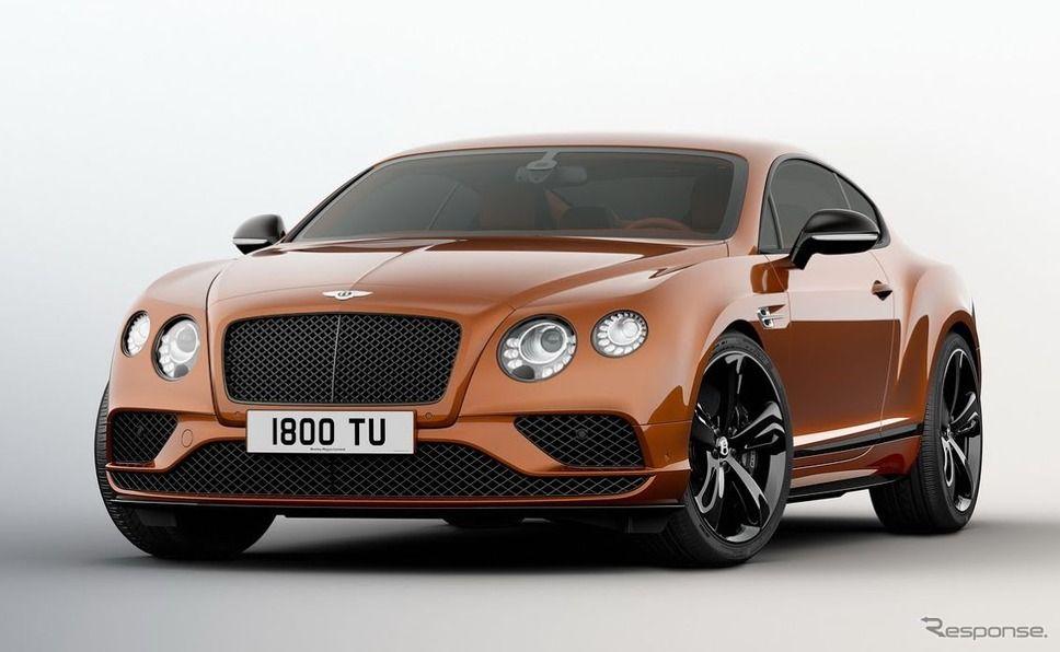 ベントレー コンチネンタル GTスピードの改良モデル