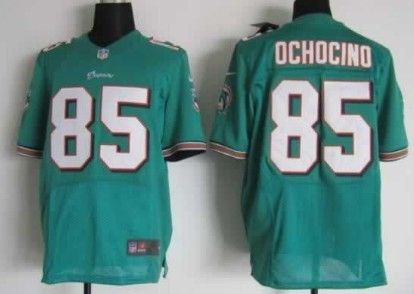 Nike NFL Miami Dolphins  85 Chad Ochocinco Green Elite Jersey  28ddee280