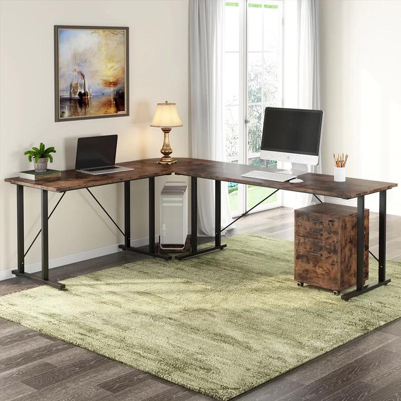 Daum Reversible L Shape Desk Large L Shaped Desk L Shaped Desk File Cabinet Desk