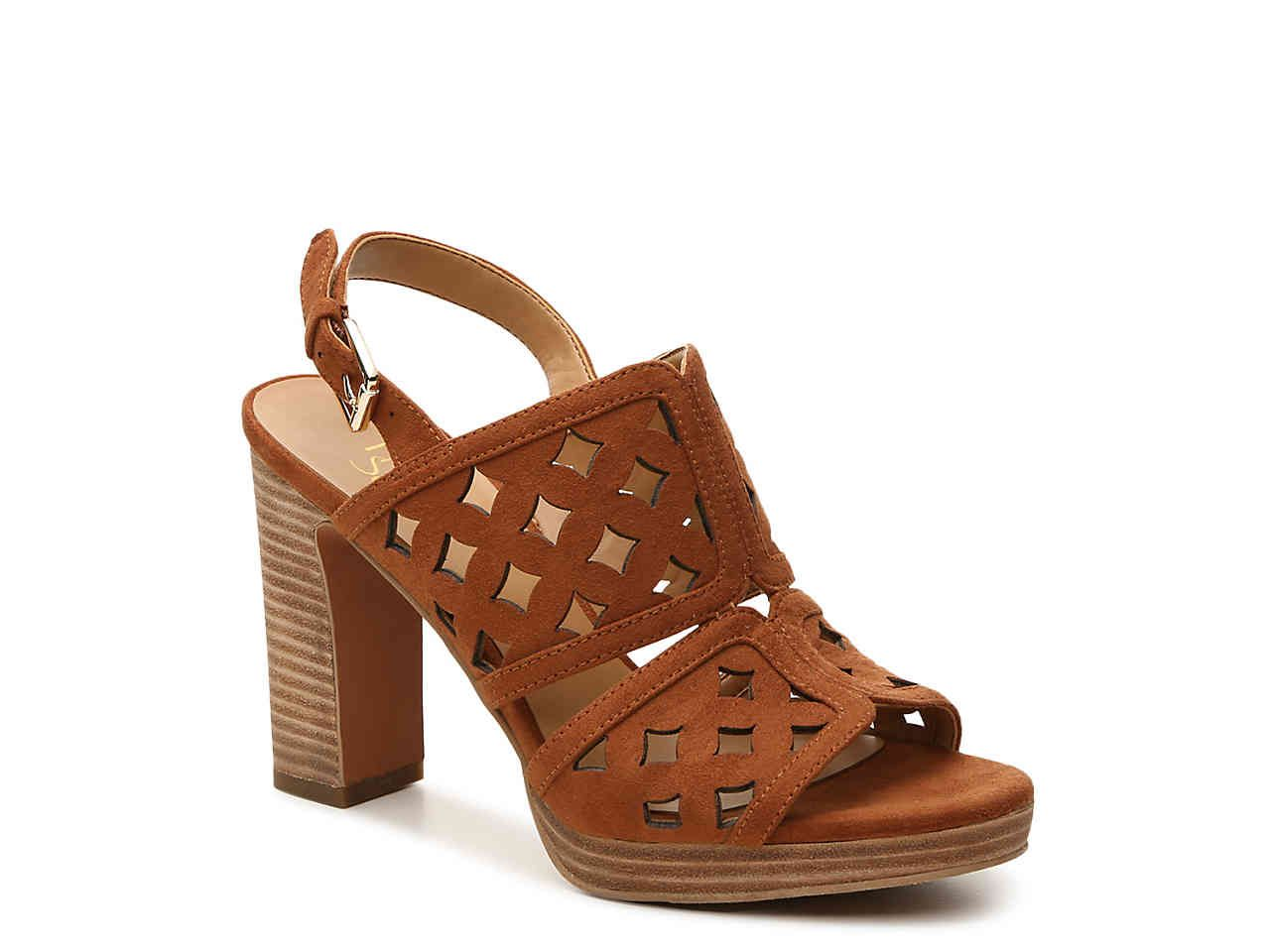 Tom Ford blade constrasting high heels strappy sandals