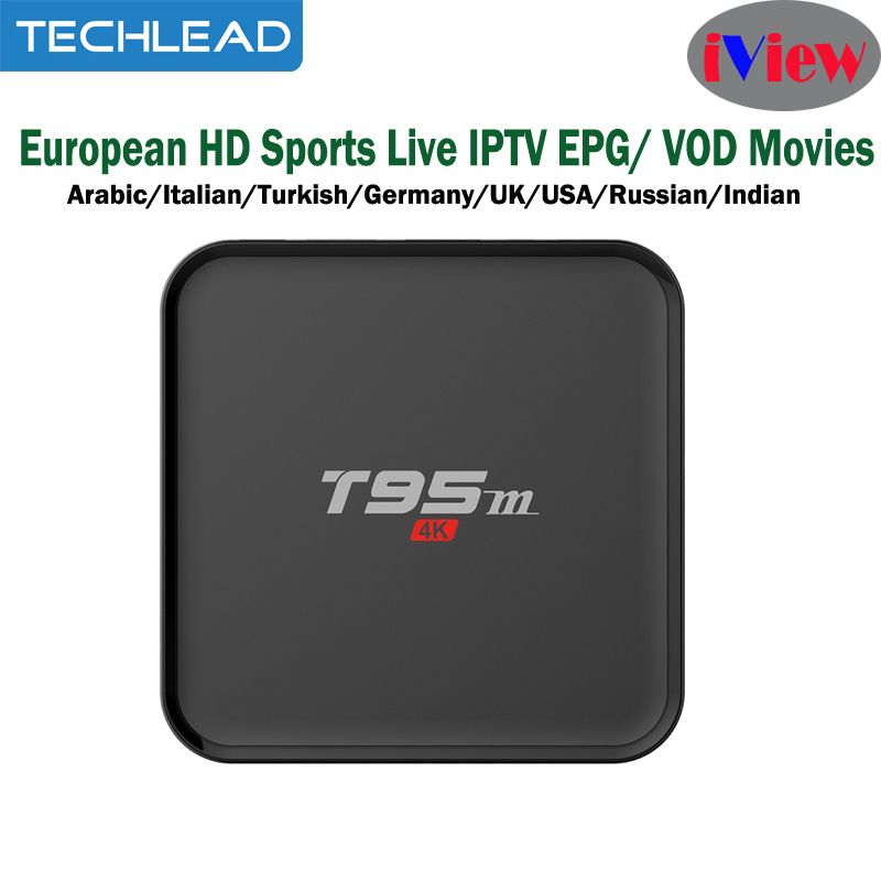 T95M Android Tv Box add Iview HD Sports TV Channels Arabic Germany