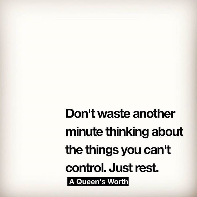 just rest.