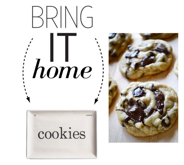 """""""Bring It Home: Cookies Decorative Tray"""" by polyvore-editorial ❤ liked on Polyvore featuring interior, interiors, interior design, home, home decor, interior decorating, Rosanna and bringithome"""