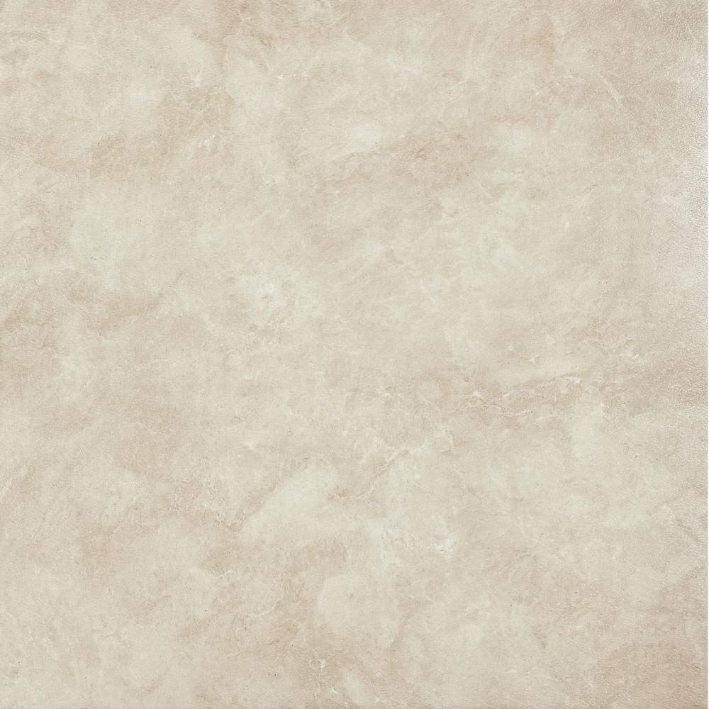 Achim Sterling Natural Carrera Marble 12 In X 12 In Peel And Stick Vinyl Tile 45 Sq Ft Case Stt1m45045 The Home Depot Carrera Marble Vinyl Tile Textured Wallpaper