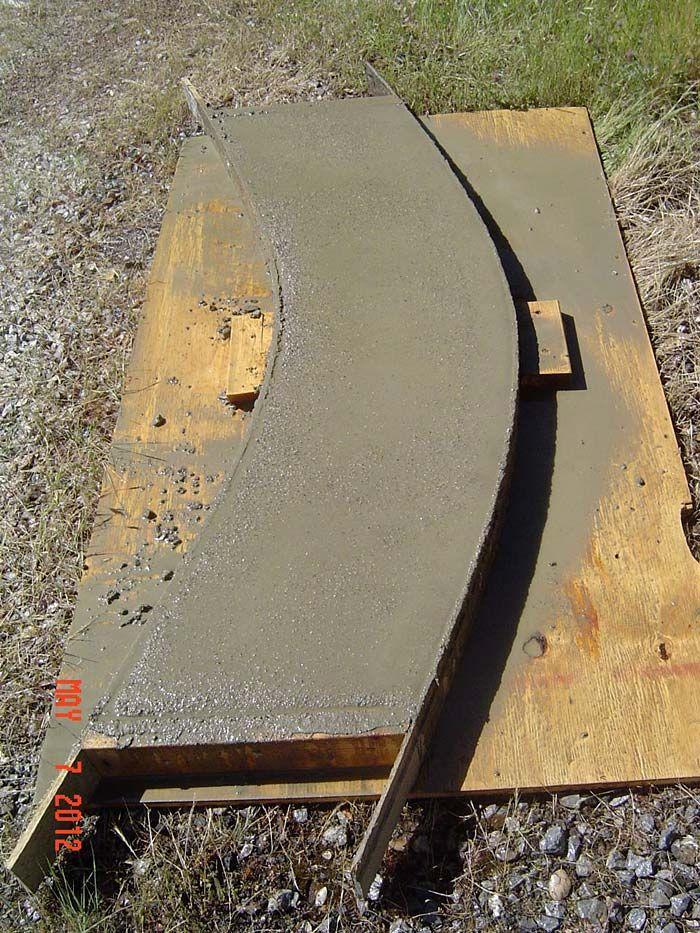 Concrete Garden Bench Diy 14 Image Concrete Garden Bench 400 x 300