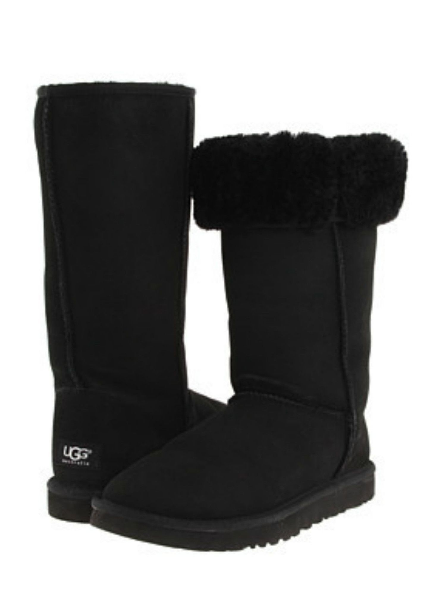 7edf21c2077 W UGG Classic Tall - Black | My lazy day outfit ideas | Ugg classic ...