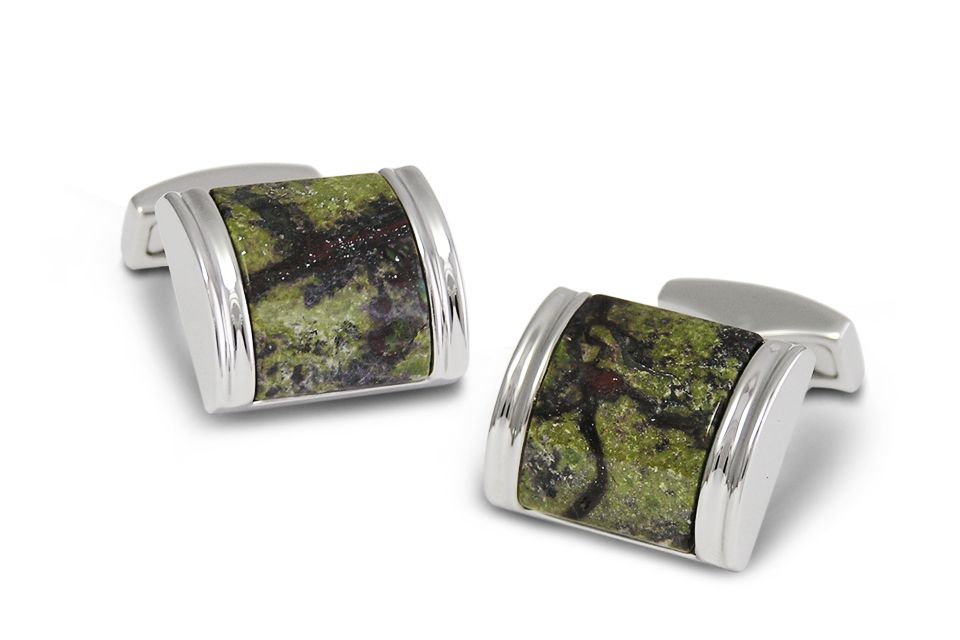 P.D.Man England 2012 Astranos Collection - Domed Square Mars Cufflinks