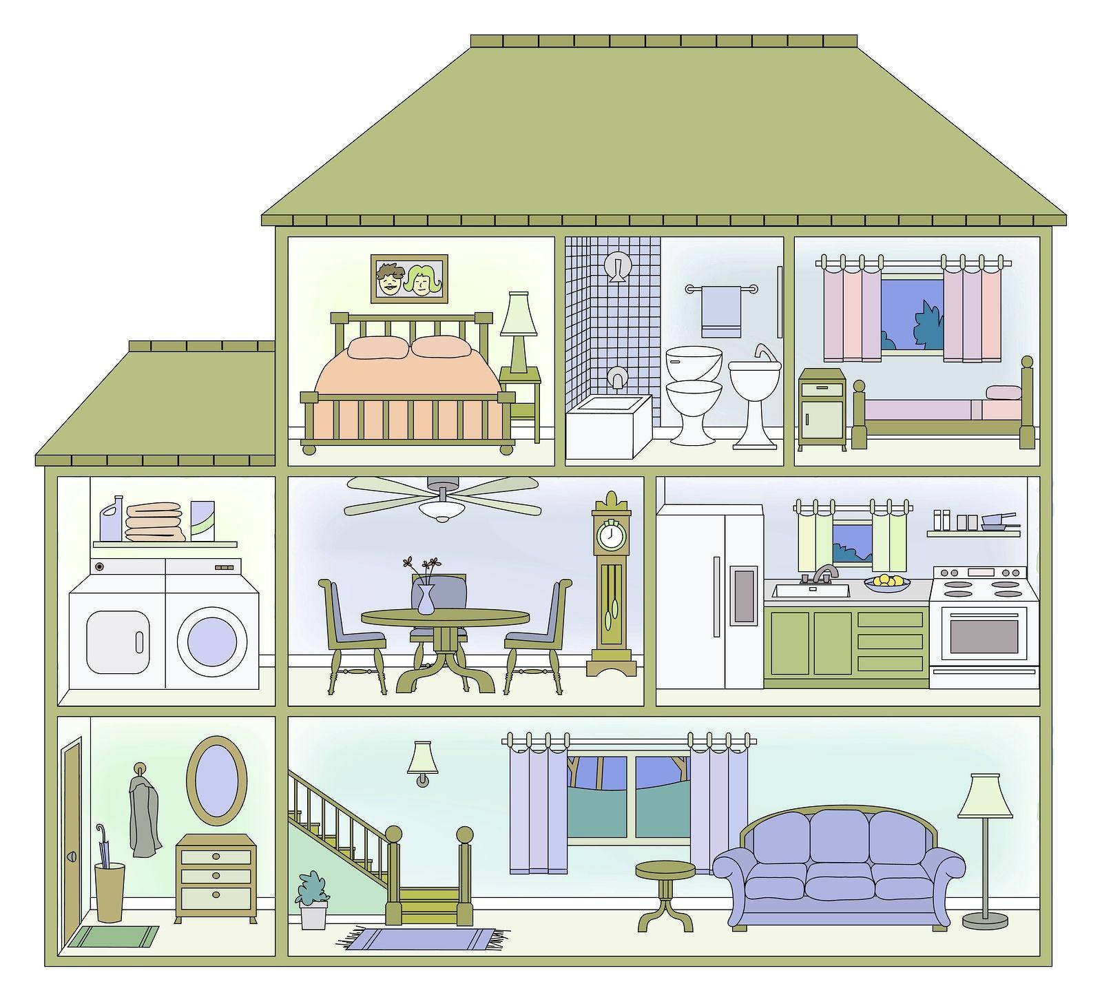 Pin By Diana Dobbins On House Cutaways