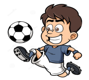 Soccer Whispering A Bridge Too Far Playing Like Pele Cartoon Nursery Wall Decals Soccer Players