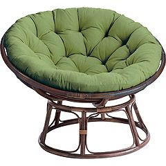 Can't wait to have a zebra or leopard print papasan chair in our new house!