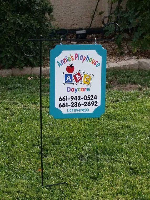 daycare sign by justsayincvc on etsy homedaycare daycare