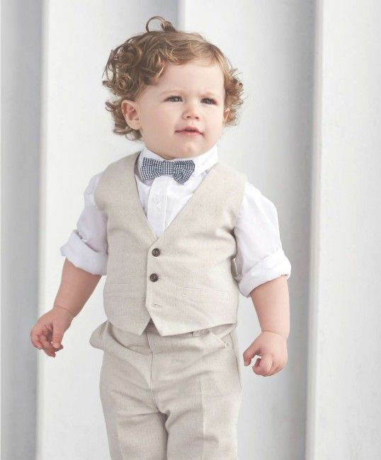 a62736f2cbc Adorable wedding outfits for babies and toddlers