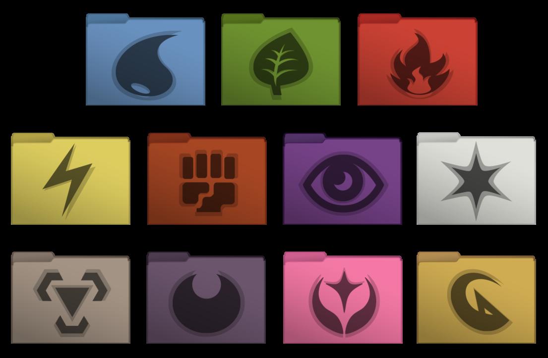 Pokemon Tcg Set Computer Folder Icons Folder Icon Pokemon Tcg Pokemon