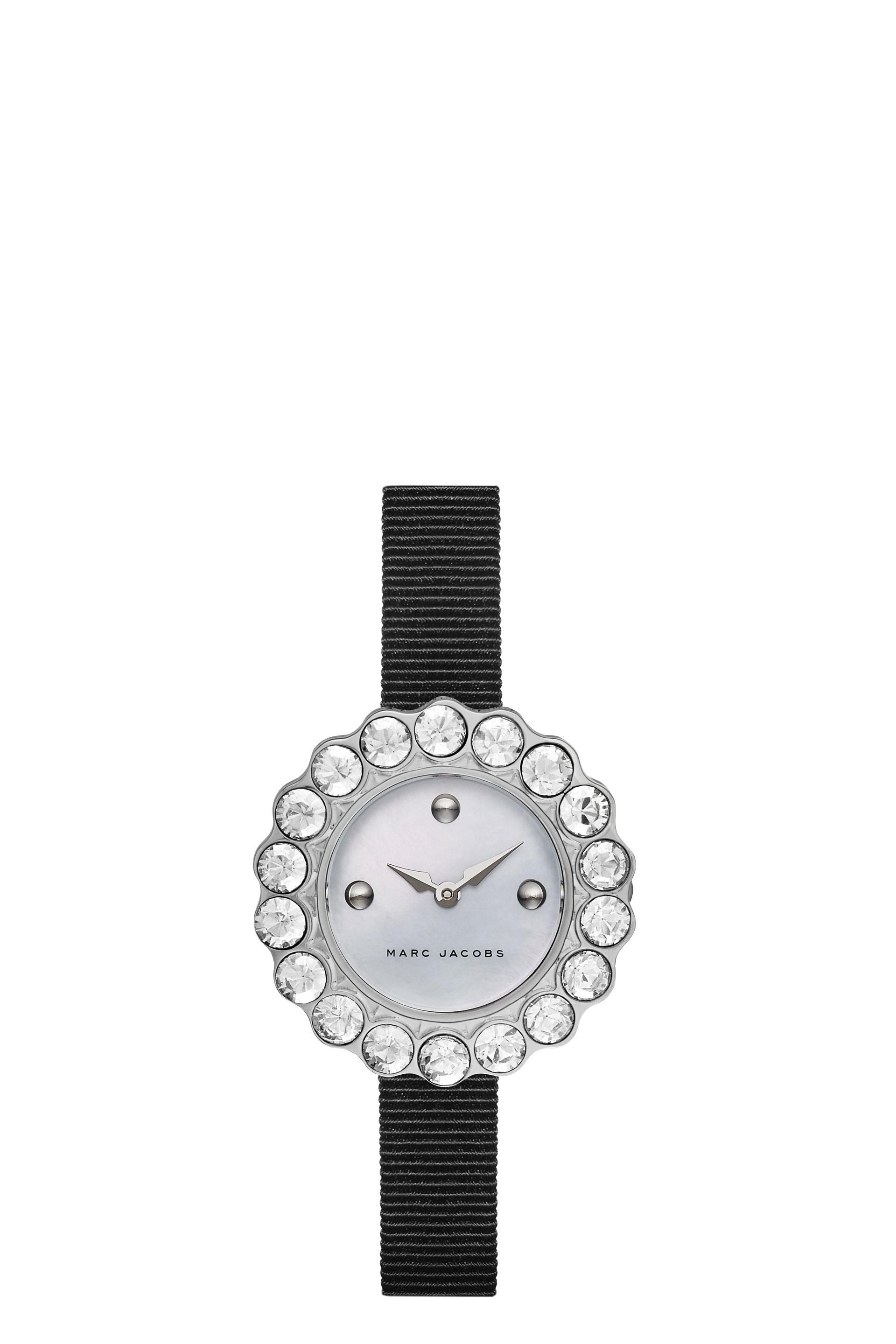 watches dial steel of on in diamond mother promesse essential bracelet baume and watch bezel pearl with main mercier