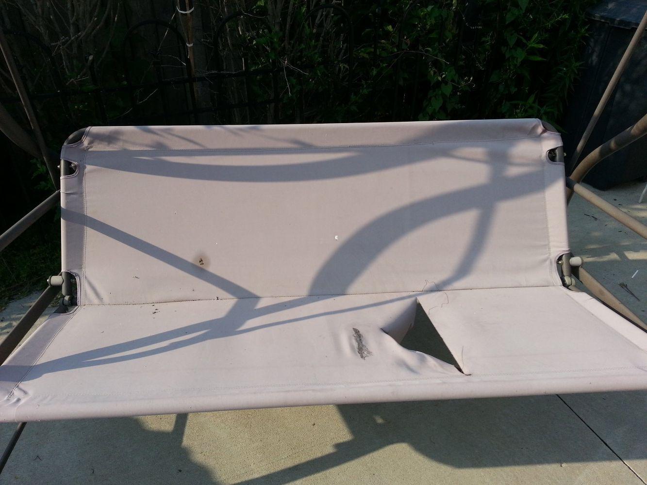 Revamp Patio Garden Swing Fix It Patio Swing Outdoor