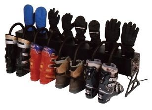 Ski Boot Storage Ideas   Chinook Four Pair Boot And Glove Dryer