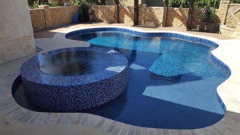 Benefits Of Having A Pool Las Vegas For Fun Year Round Premier Pools Spas Premierpoolsandspas Pre Small Pools Freeform Pool Designs Swimming Pool Designs
