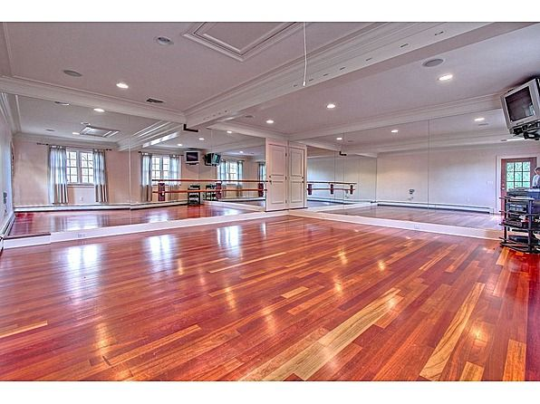 Ice Rink Yoga Studio And Disco Over The Top Home Amenities Yoga Studio Home Dance Rooms Home Dance Studio