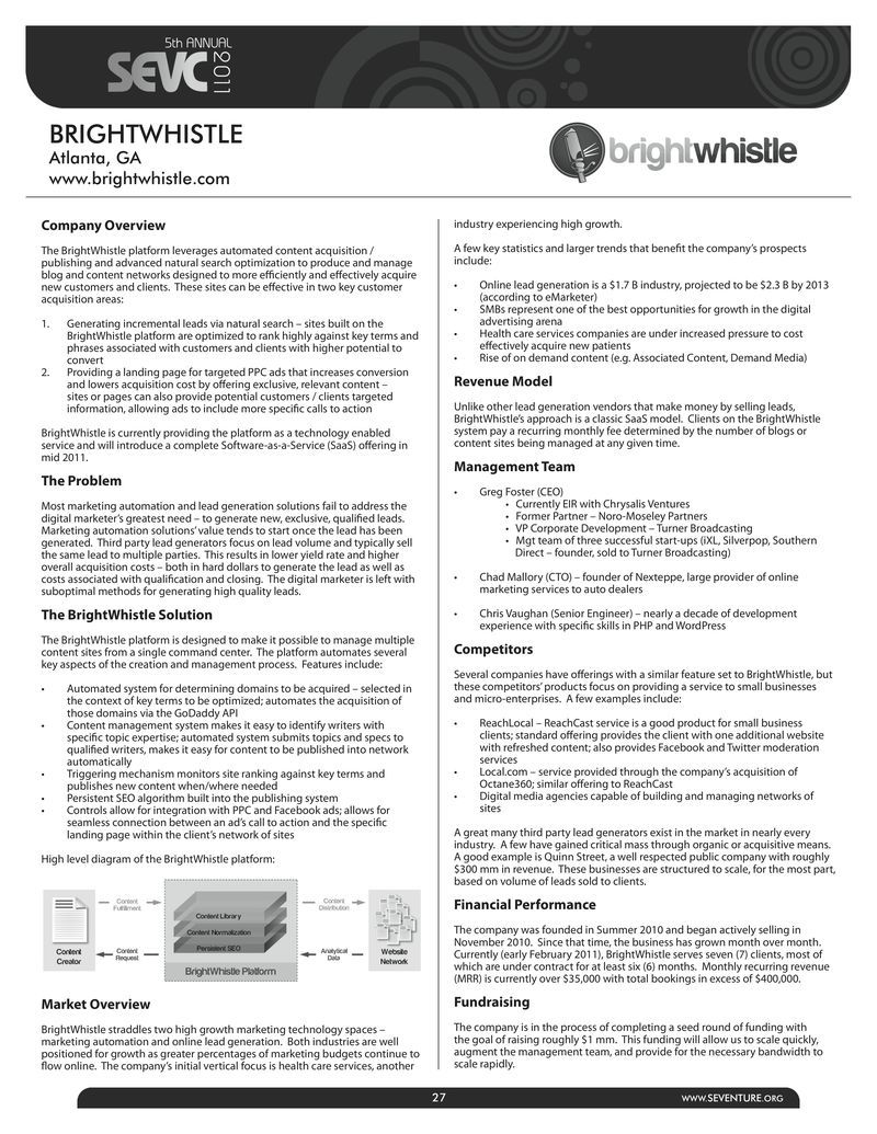 Examples Of An Executive Summary  Download Brightwhistle