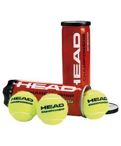 Head 6 Pack of Tennis Balls.