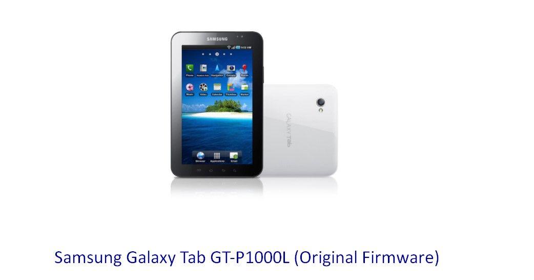 Samsung Galaxy Tab GT-P1000L (Original Firmware) - Stock Rom