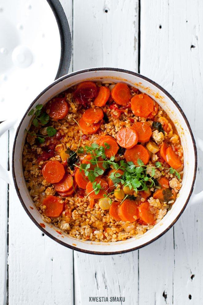Aromatyczne Biryani Z Soczewica Marchewka I Pomidorami Namoczyc Soczewice 1 2 Tsp Oleju 2 Sz Indian Food Recipes Vegetarian Recipes Healthy Cooking Recipes