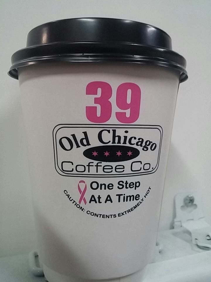 Our cup of hope for the Avon Walk for Breast Cancer in Chcago #Powerof39