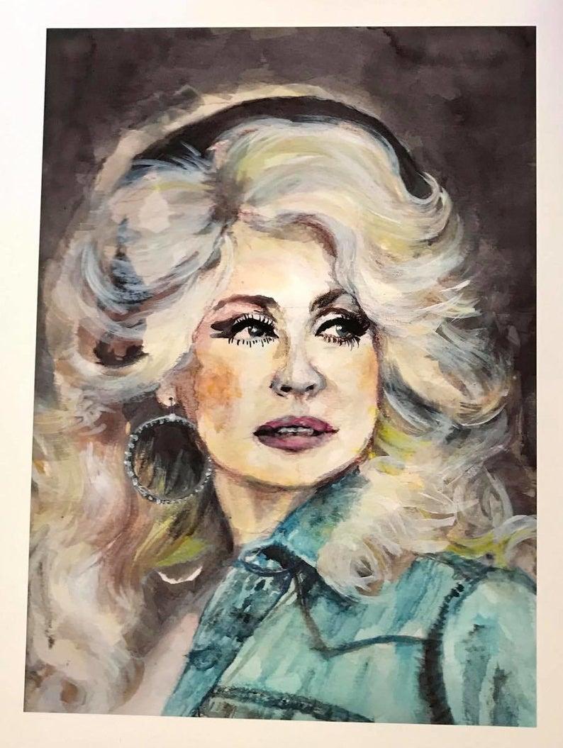 Dolly Art Print | Etsy