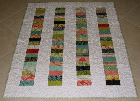 Nice Chinese coins quilt - modern-looking