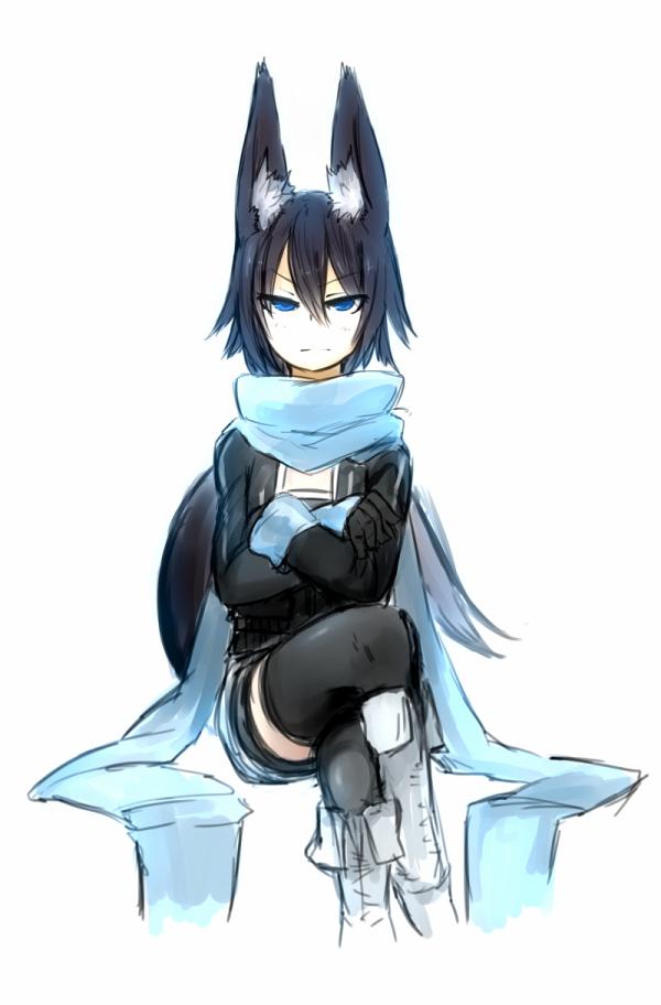 Pin By Ndnc Monŧ ĵdno On Neko Anime Wolf Girl Anime Wolf Wolf Ears And Tail