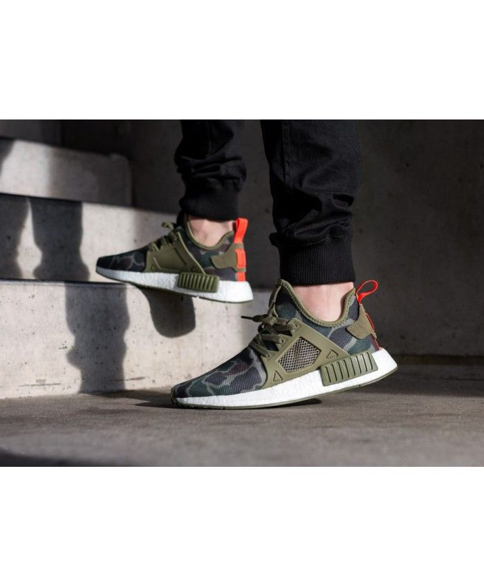 e33ee46f3e4d3 Adidas NMD XR1 Duck Camo Olive Cargo Core Black Shoes