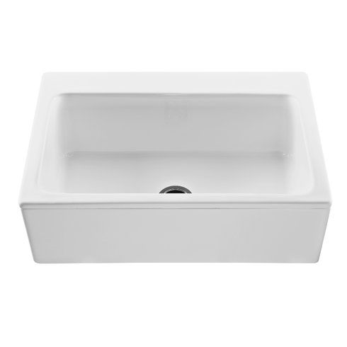Reliance Reliance Mccoy 33 L X 22 25 W Farmhouse Apron Kitchen Sink Apron Sink Kitchen Sink Single Bowl Kitchen Sink