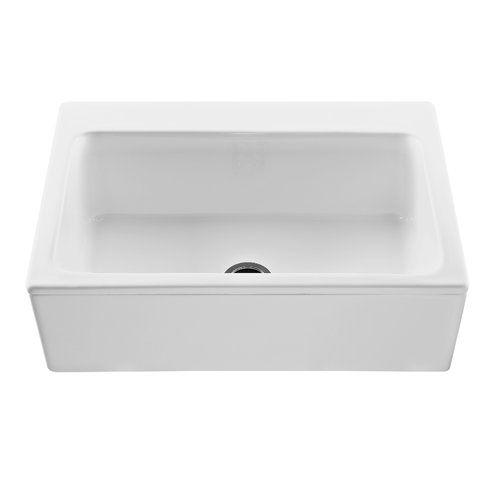 Reliance Reliance Mccoy 33 L X 22 25 W Farmhouse Apron Kitchen Sink Apron Sink Kitchen Sink Single Bowl Kitchen Sink