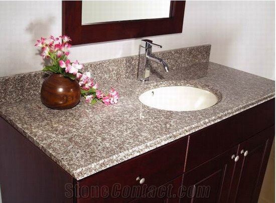 Bainbrook Brown Bathroom Vanitytops Brown Granite Bath Tops From