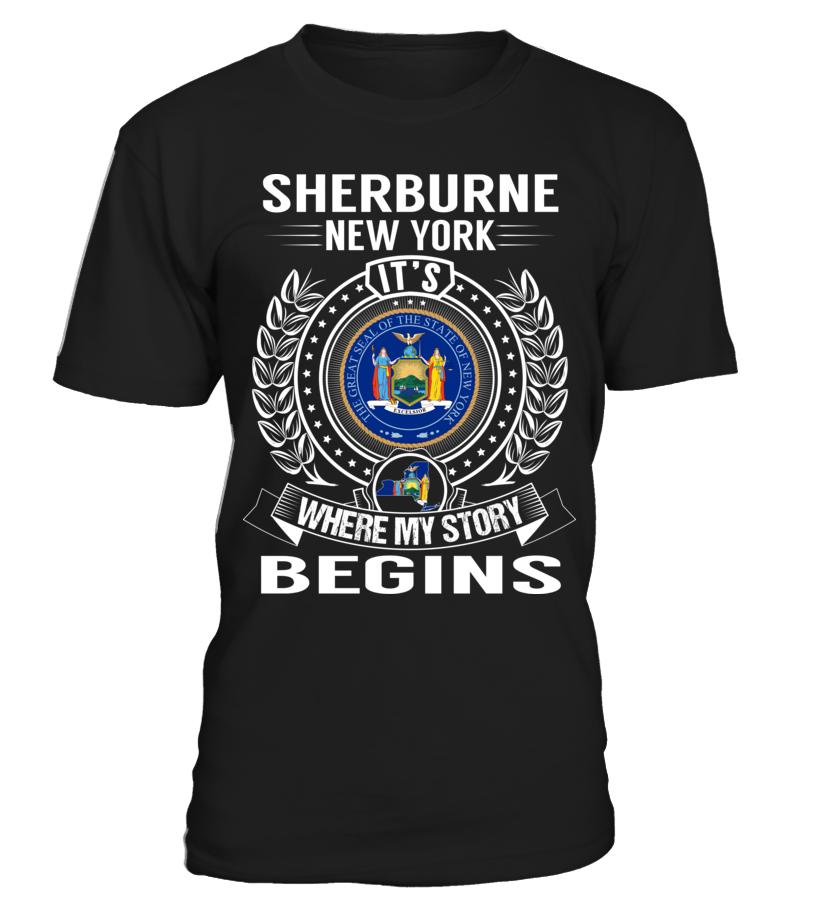 Sherburne, New York - My Story Begins