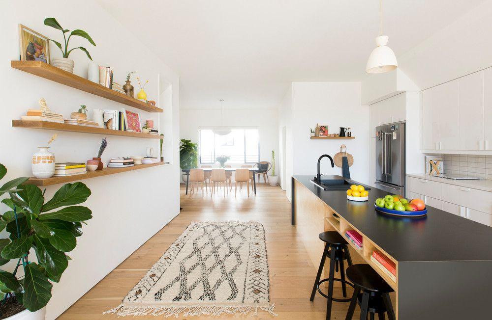 a Scandi and Japanese-inspired kitchen & Mixing Styles Scandinavian Japanese Minimalist Home Tour | kitchen ...