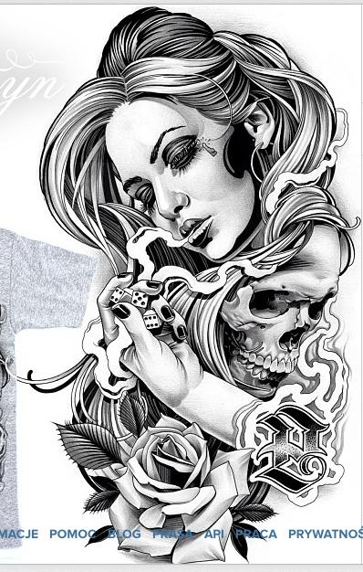 Chicano Art Tattoo Drawings