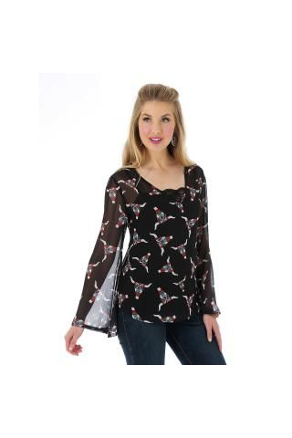 Wrangler%AE+Premium+Patch%AE+Fashion+Shirt+Long+Sleeve+Urban+