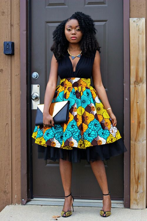 Style With Temy Marie African Print Skirt African Fashion African Attire