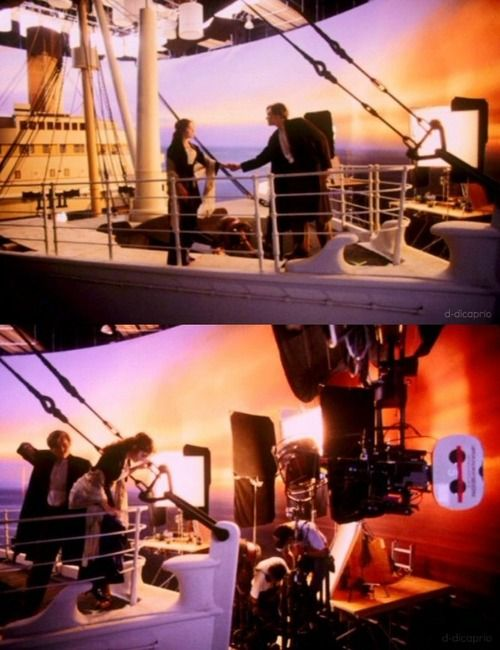 titanic behind the scenes you jump i jump pinterest