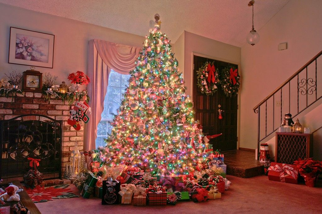 pictures of christmas trees decorated. stunning christmas tree