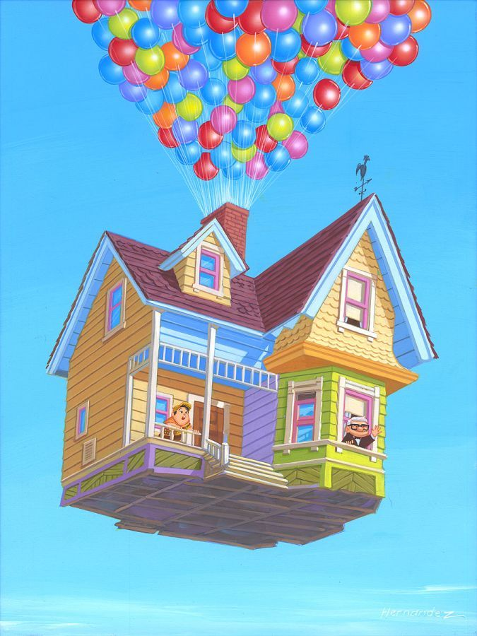At Home In The Sky By Manuel Hernandez Disney Fine Art With