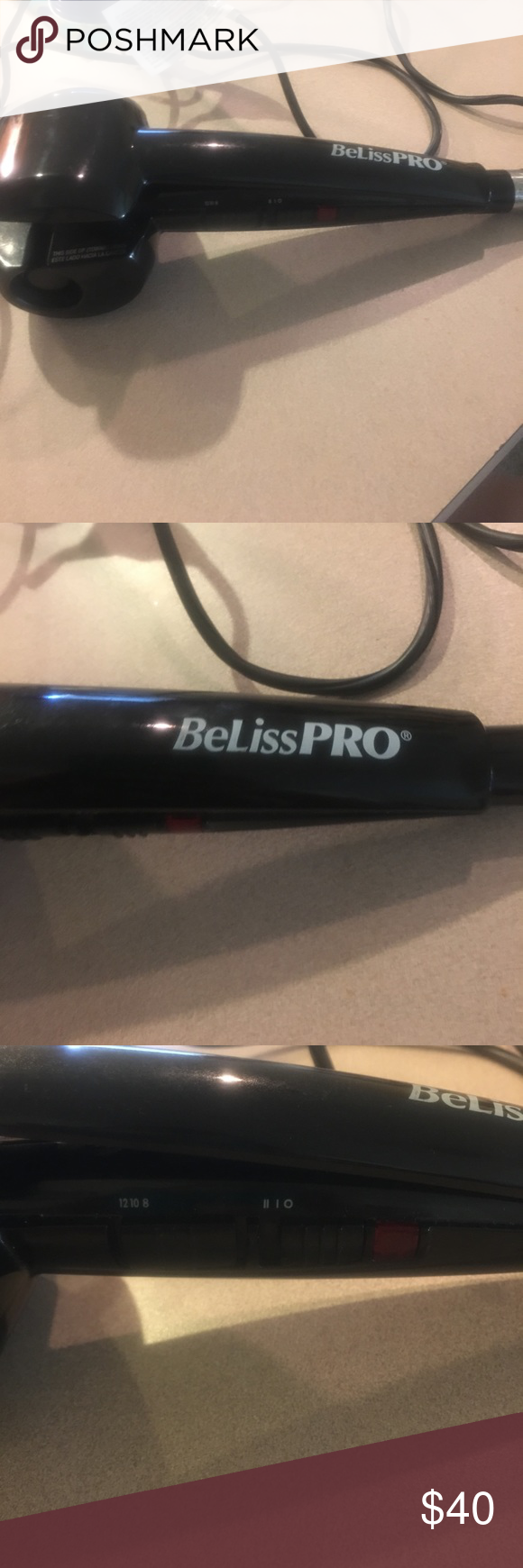 Beliss Pro Hair Curler The Conair Infiniti Curl Secret Curling Iron Makes It Easy To