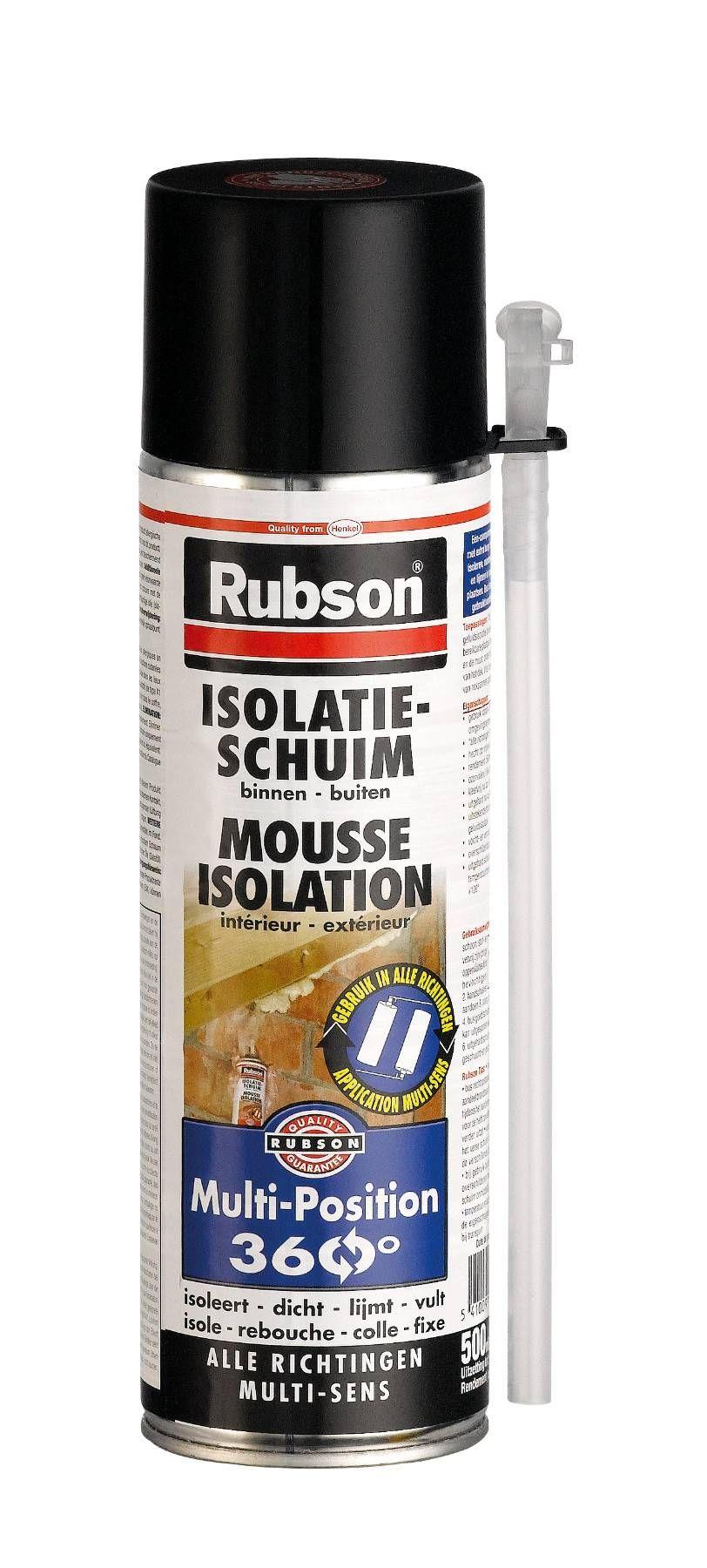 Mousse Isolation Multi Rotation 360 Rubson Aerosol Mousse Isolation