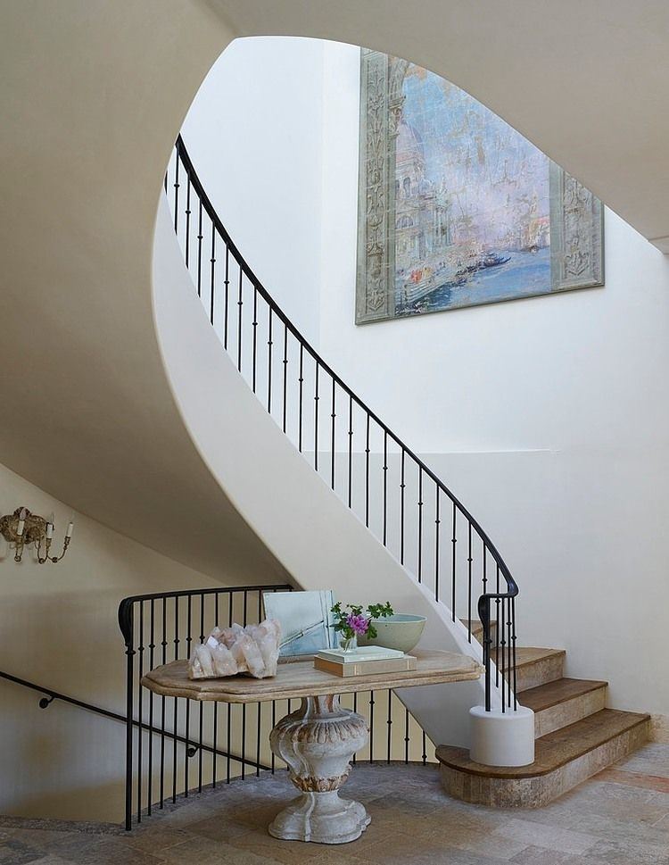 Foyer Staircase Quest : Beach house by homer oatman and staircases